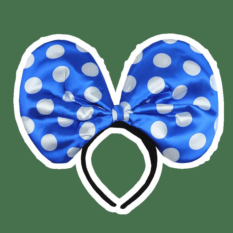 Голубой ободок микки маус